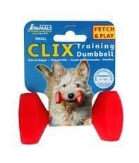 Co of animals training dumbbell